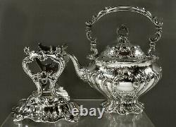 Gorham Sterling Tea Set 1902 CHANTILLY GRANDE