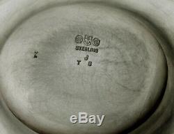 Gorham Sterling Tea Set 1906 Special Code Hallmark