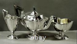 Gorham Sterling Tea Set 1908 PLYMOUTH