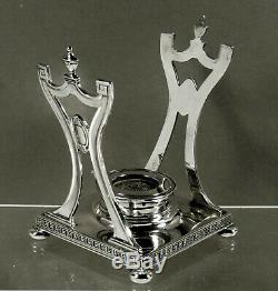 Gorham Sterling Tea Set 1917 LANSDOWNE