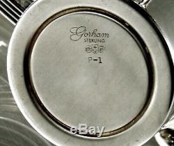 Gorham Sterling Tea Set 1917 Plymouth