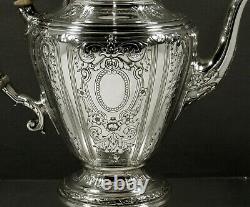 Gorham Sterling Tea Set 1926 MAINTENON NO MONO