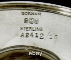 Gorham Sterling Tea Set 1927 PLYMOUTH