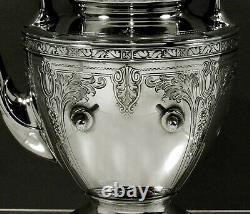 Gorham Sterling Tea Set 1933 CINDERELLA
