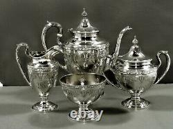 Gorham Sterling Tea Set 1933 CINDERELLA PATTERN