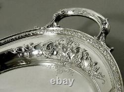 Gorham Sterling Tea Set Tray 1927 MAINTENON