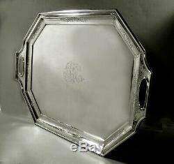 Gorham Sterling Tea Set Tray c1940 98 Ounces