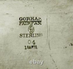 Gorham Sterling Tea Set c1940 FAIRFAX