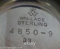 Grande Baroque by Wallace Sterling Silver Tea Set 4pc #4850-9 (#1138) Coffee