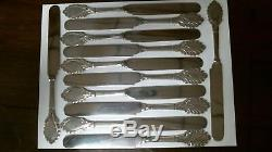 Grecian by Gorham 1861 Coin Silver Set of 12 Tea / Dessert Knives