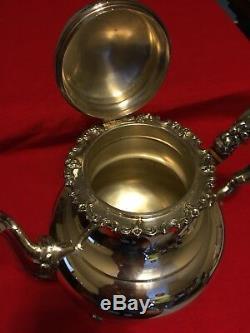 Heidelberg Sterling Silver (925) 4 Piece Tea Set 4 piece tea and coffee service