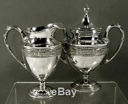International Co. Sterling Tea Set c1940 Wedgwood No Monogram