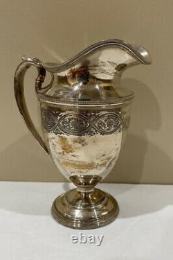 International Silver Company/Wilcox S. P. Vintage 6 Piece Coffee Tea Service Set
