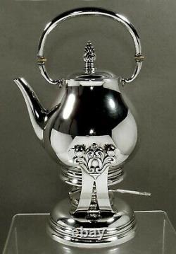 International Sterling Tea Set 1950 Royal Danish
