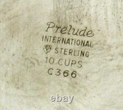 International Sterling Tea Set c1940 PRELUDE