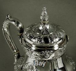 International Sterling Tea Set c1950 RICHELIEU