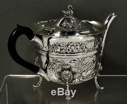 Irish Sterling Tea Set 1904 WEIR & SONS ROYAL CUSTOMERS