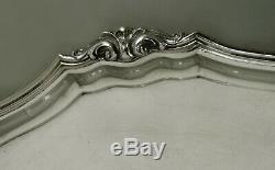 Italian Silver Tea Set Tray c1935 Lion Handles
