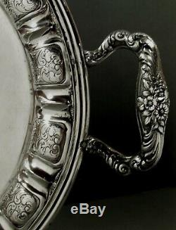 Italian Silver Tea Set Tray c1950 Cappelli Fulvio, Florence