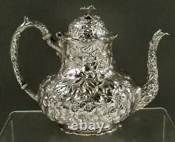 James Armiger Sterling Tea Set c1895 RARE