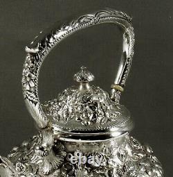 Jenkins & Jenkins Sterling Tea Set c1895