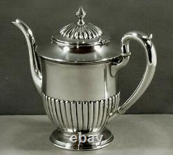 Kirk Sterling Tea Set c1925 GEORGIAN