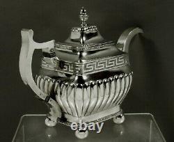 Liberty Browne Silver Tea Set c1810 MUSEUM