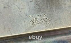 MINIATURE BRITISH TEA SET Sterling Silver 6 pcs RARE, WOW