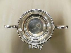 Mappin & Webb Silver art Deco 3 piece tea set 1910