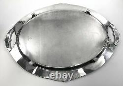 Marquise 1847 Rogers Silverplate 6-Piece Tea / Coffee Set Plate Loss On Tray