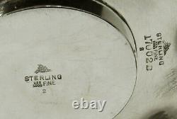 Mauser Sterling Tea Set c1905 MARTELE