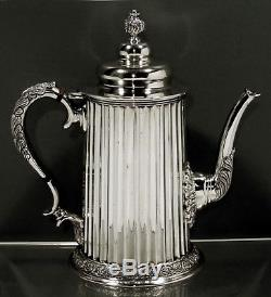 Mexican Sterling Tea Set TANE COLONIAL STYLE WEIGHS 66 0Z