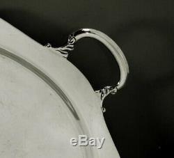 Mexican Sterling Tea Set Tray c1950 J. Torres No Monogram