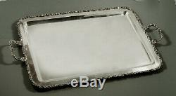 Mexican Sterling Tea Set Tray c1950 Juventino Lopez Reyes