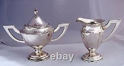 Okubo Brothers Sterling Silver. 950 Coffee Tea Set withCases