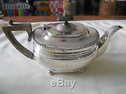 Personal Sterling Silver Tea Set Golds Silversmiths Co