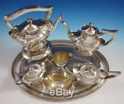 Plymouth by Gorham Sterling Silver Tea Set 7pc Antique (#3059) Exceptional