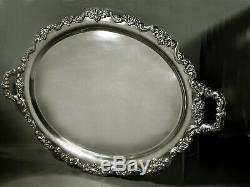 Poole Sterling Tea Set Tray c1950 Crest of Windsor 150 Oz