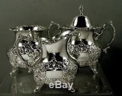 Poole Sterling Tea Set c1950 Crest of Windsor No Mono