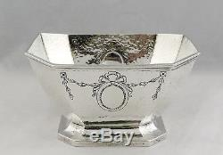 R Wallace & Sons Sterling Hand Hammered Coffee/Tea Set 2300-51