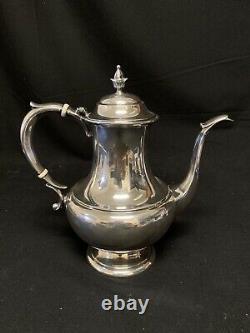 Reed & Barton Sterling 750 The Pilgrim Tea Set 3 Pcs