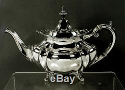 Reed & Barton Sterling Tea Set 1947 Hampton Court No Mono