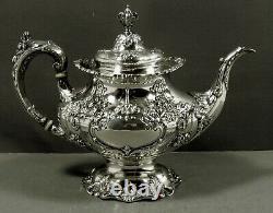 Reed & Barton Sterling Tea Set 1951 FRANCIS I