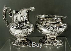Reed & Barton Sterling Tea Set 1951 Francis I No Mono