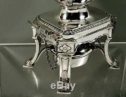 Reed & Barton Sterling Tea Set c1920 Heritage Hand Decorated