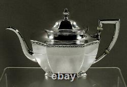 Reed & Barton Sterling Tea Set c1940 Georgian