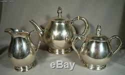 Royal Danish International Sterling Silver Three Piece Coffee/Tea Set 50oz