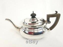 STERLING SILVER BACHELOR TEA SET Chas. Green & Co, Birmingham, 1919