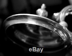 STERLING SILVER GORHAM 6-Piece TEA / COFFEE SET Including Waste Bowl. 1951