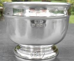 STERLING SILVER TEA SET 682g VINERS SHEFFIELD 1936 VINTAGE